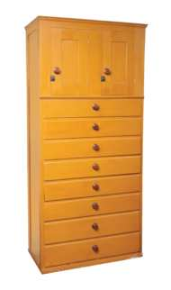 Lot 33: Cupboard Over Drawers