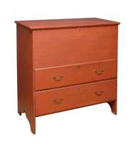 Lot 41: Two-Drawer Blanket Chest