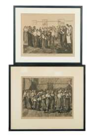 Lot 52: Two Engravings and Broadside
