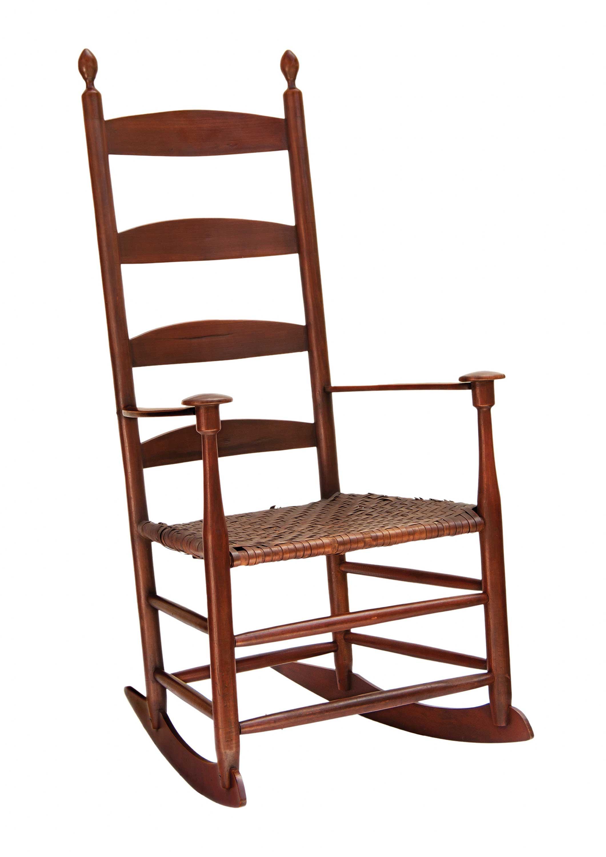 Lot 107 Elder s Rocking Chair