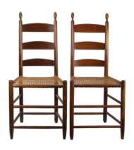 Lot 74: Two Side Chairs