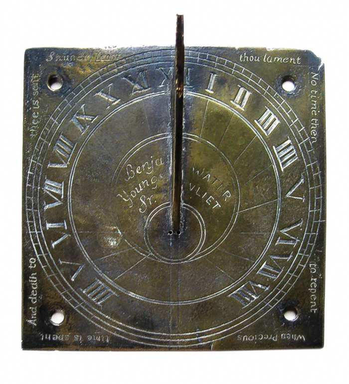 Lot 78C: Very Rare Shaker Sundial