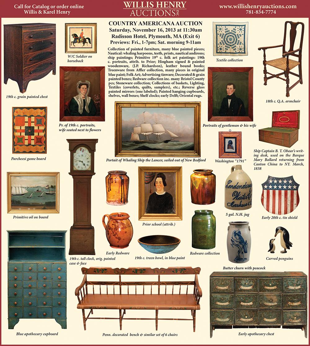 Country Americana Auction - November 16, 2013