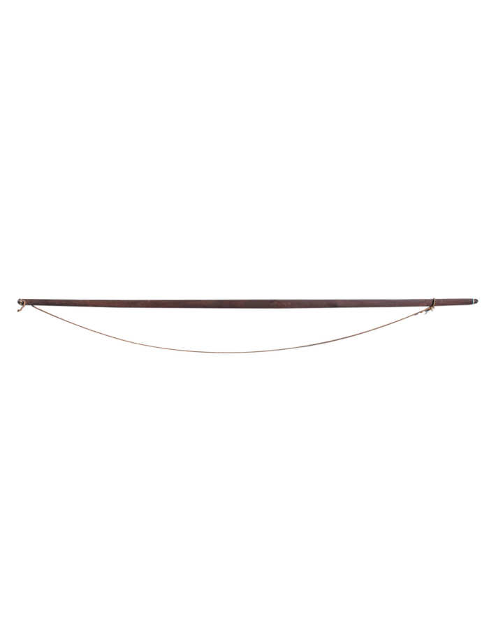 Lot 109A: North American Indian Hardwood Bow