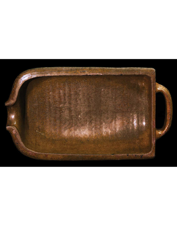 Lot 115A: 19th C. Earthenware Batter Bowl