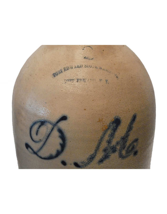 Lot 116: 19th C. Stoneware Jug
