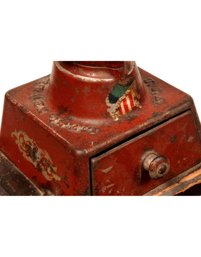 Lot 129: Cast Iron Coffee Grinder