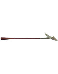 Lot 13A: 19th C. Forged Iron Whaling Harpoon