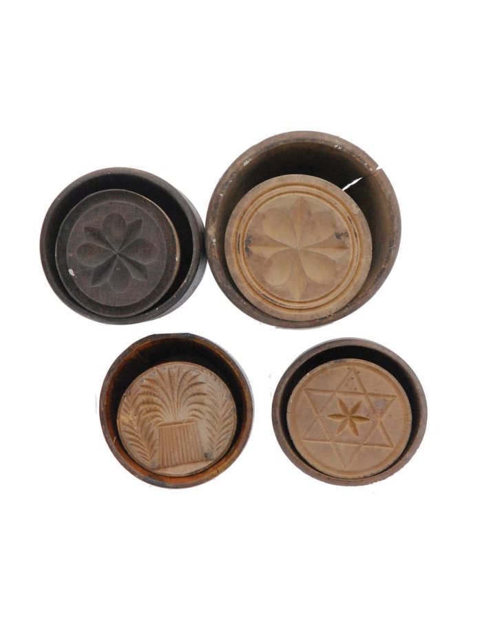 Lot 149C: 19th C. Butter Molds
