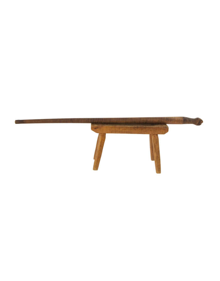 Lot 172: 19th C. Cane and Footstool