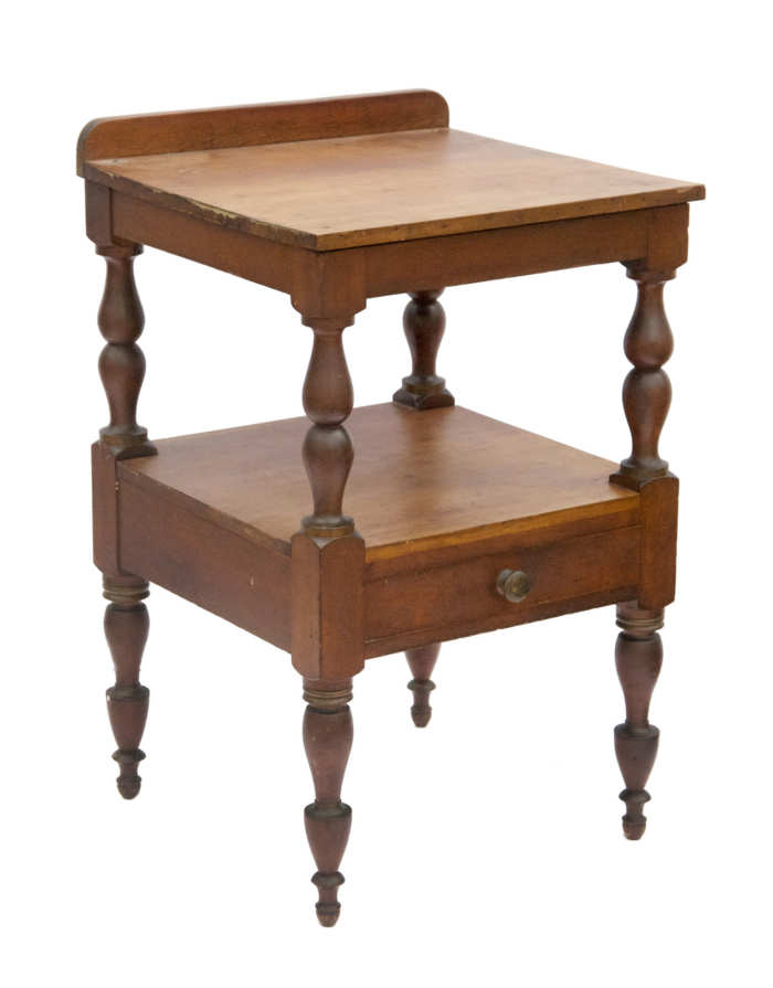 Lot 185: 19th C. Cherry Wood Stand