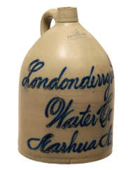 Lot 18: 19th C. Stoneware Jug
