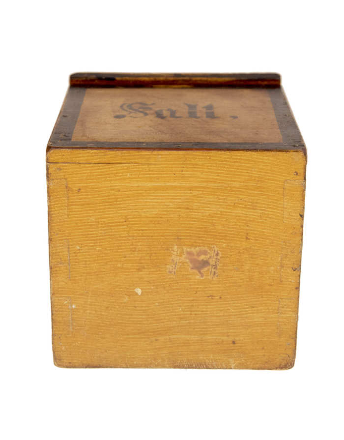 Lot 193: Grained Salt Box