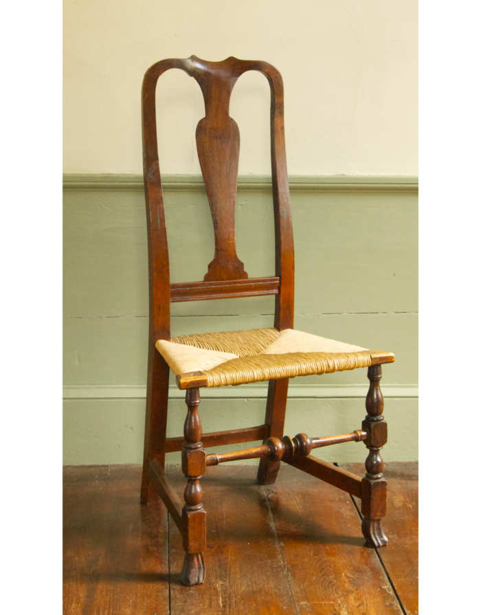 Lot 21: Queen Anne Side Chair