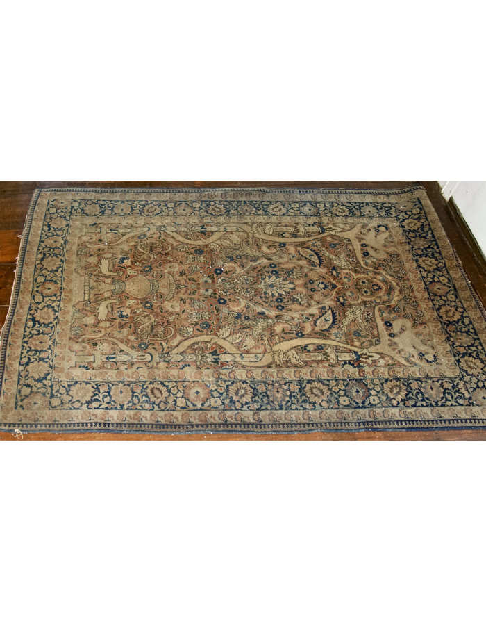 Lot 22: Persian Oriental Scatter Rug