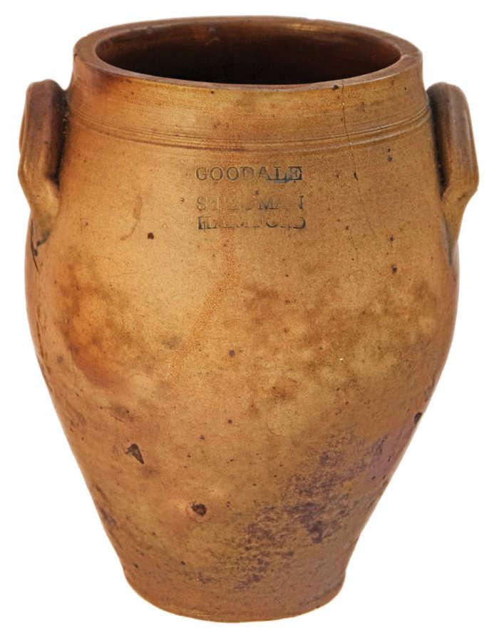 Lot 27: Stoneware Crock