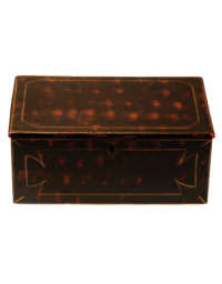Lot 2: 19th C. Pine Storage Box