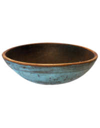 Lot 37: Blue Chopping Bowl