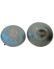 Lot 39: Two Blue Bowls