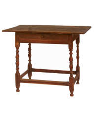 Lot 40: 18th C. New England Tavern Table