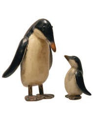 Lot 4: Carved Penguins