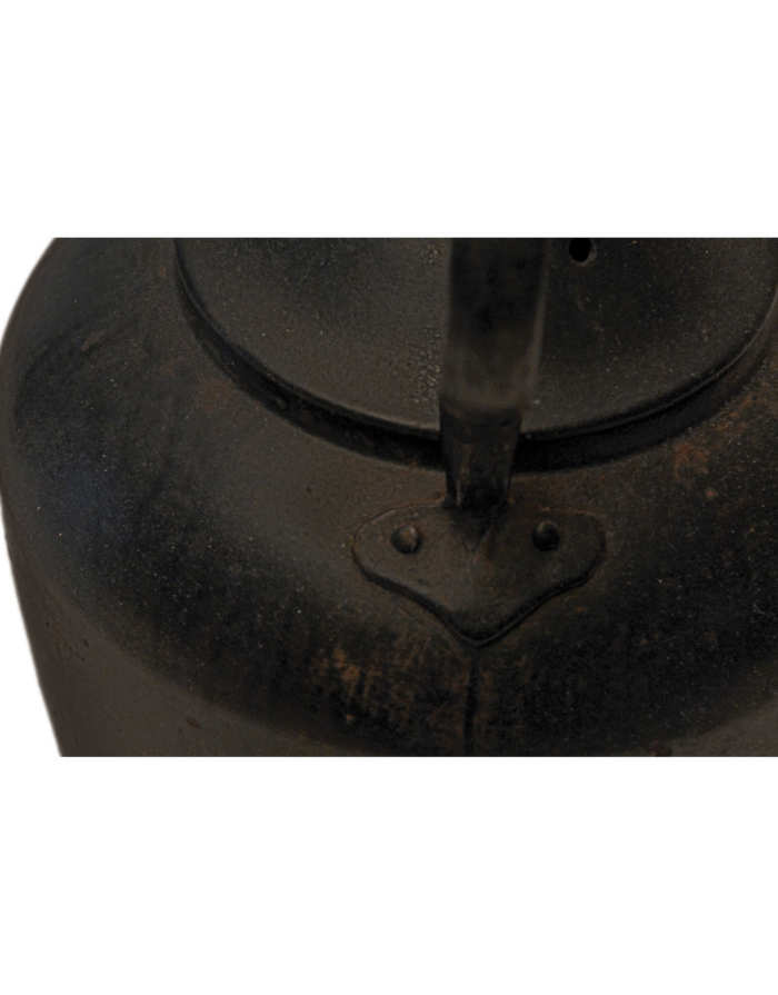 Lot 52: Iron Kettle and Stand