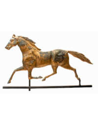 Lot 54: 19th C. Horse Weathervane