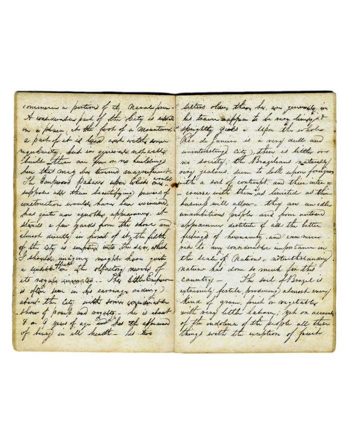 Lot 59: 19th C. Handwritten Manuscript
