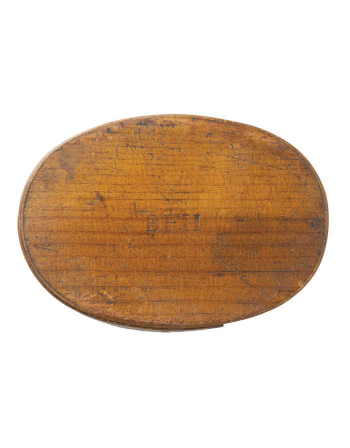 Lot 62C: Oval Pantry Box