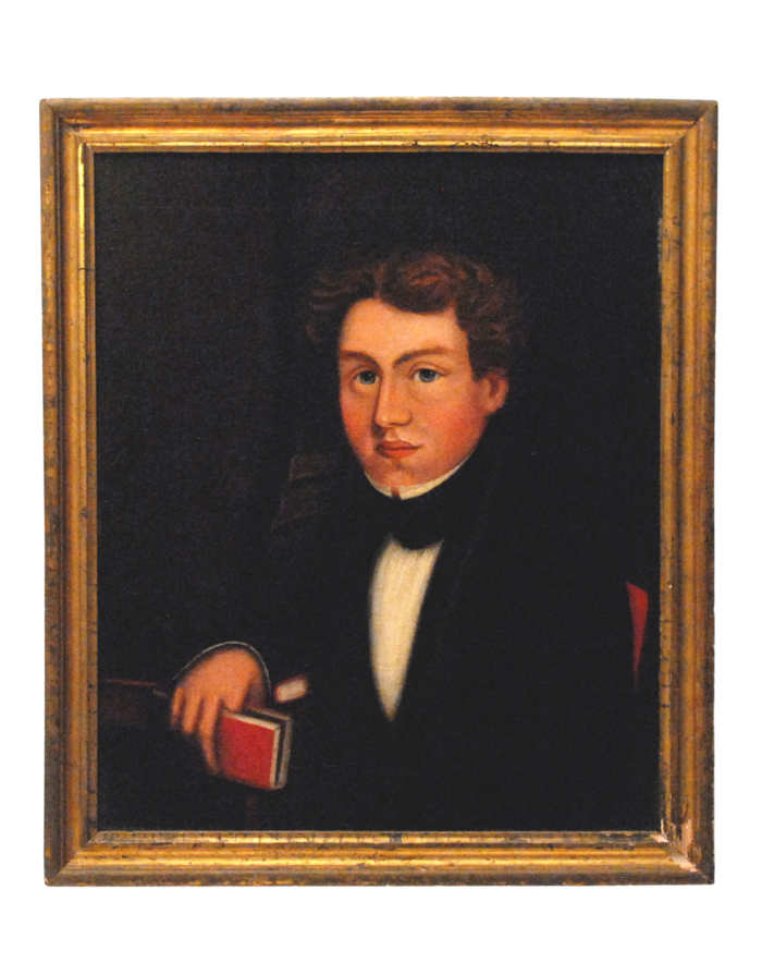 Lot 71: Portrait of Boy with Book