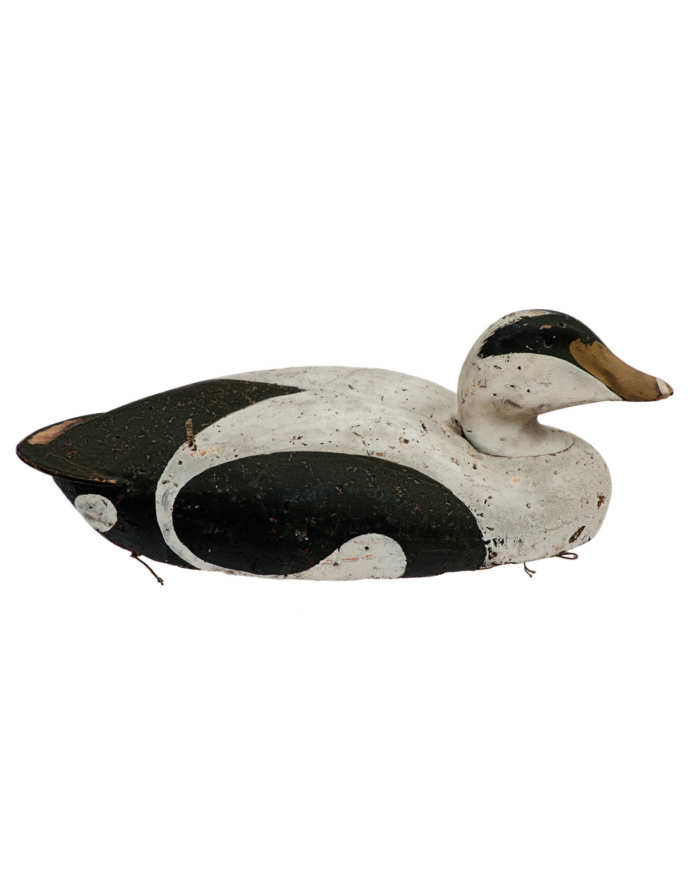 Lot 72A: Carved Wood and Cork Decoy