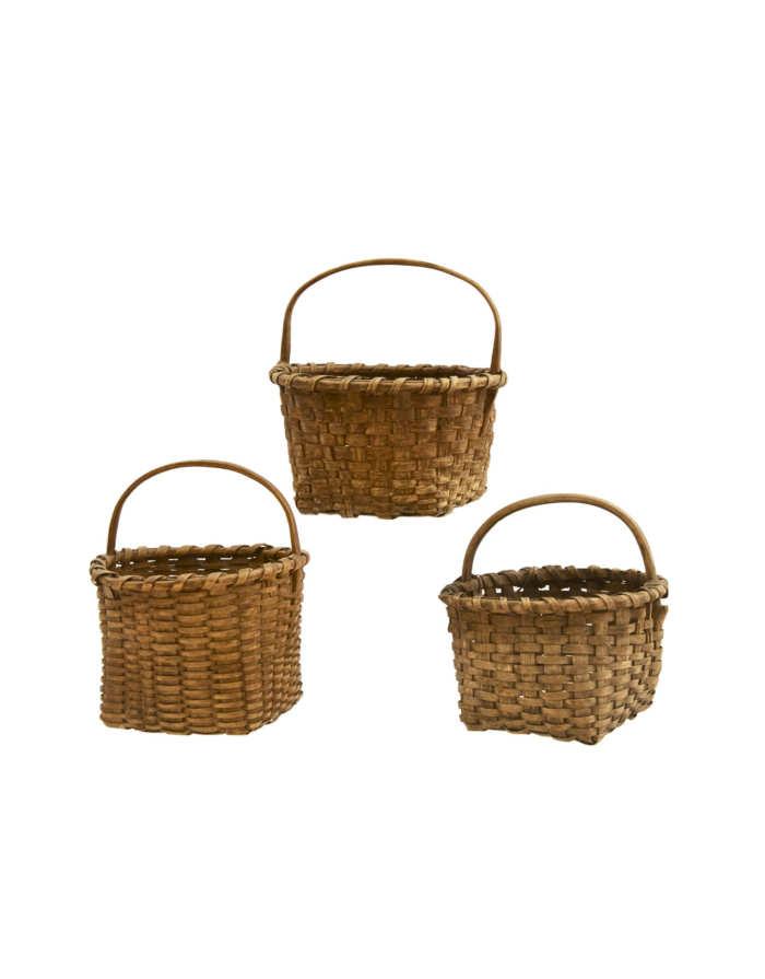 Lot 97: Three Gathering Baskets