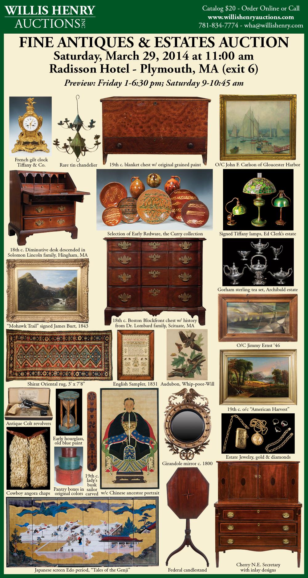 Willis Henry Auctions Inc