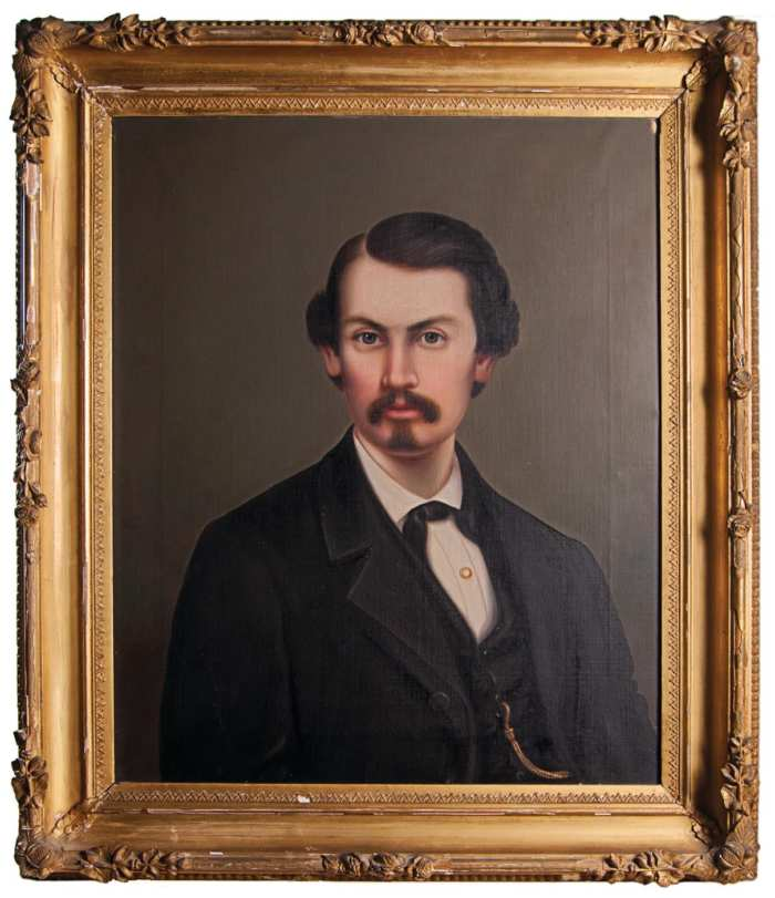 Lot 102: Portrait of Young Gentleman