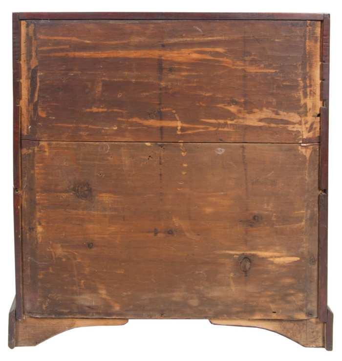 Lot 115: 18th c. Slant Lid Desk