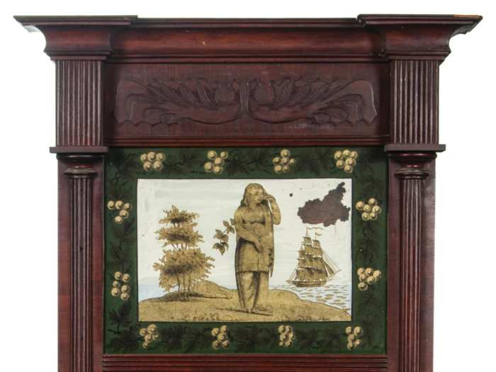 Lot 119: Federal Looking Glass