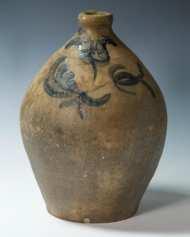 Lot 11: Stoneware Jug and Deep Bowl