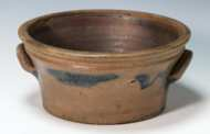 Lot 11: Stoneware Jug and Deep Bowl