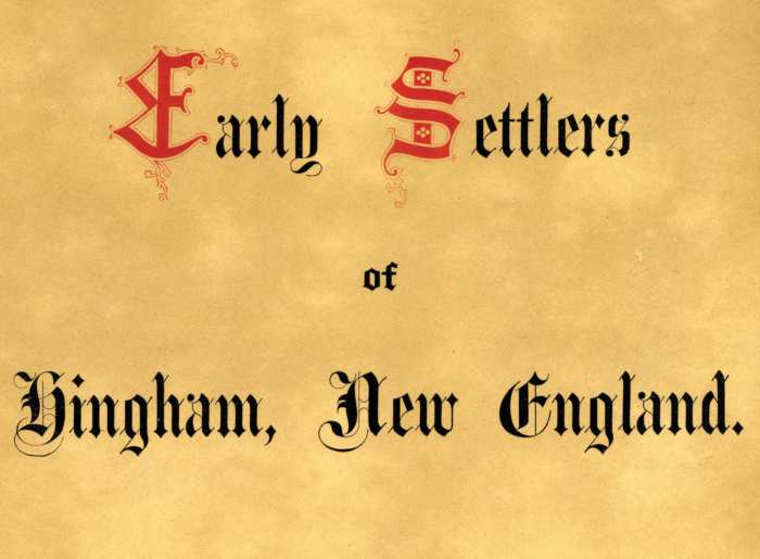 Lot 126A: Ephemera Collection Related to Hingham, MA