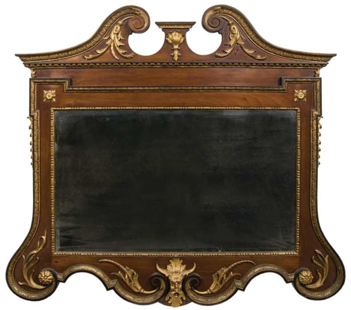 Lot 162: Over the Mantle Looking Glass