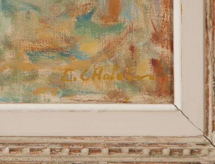 Lot 184: Oil Painting by C. Craciun