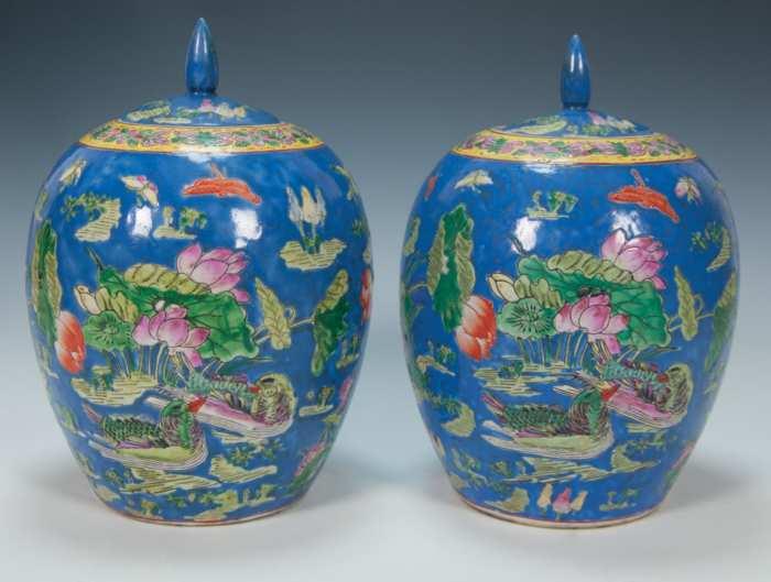 Lot 191: Chinese Jars