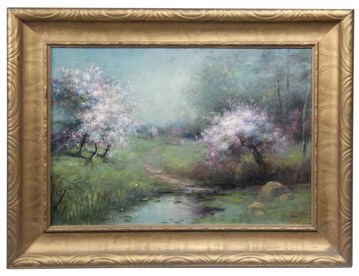 Lot 196: Impressionist Landscape