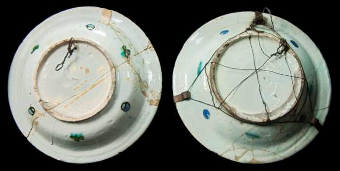 Lot 207: Two 17th/18th c. Persian Ceramic Bowls