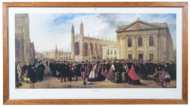 Lot 243: Large Colored Lithographic Print