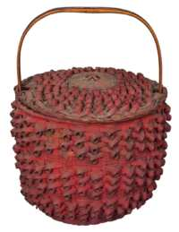 Lot 36: 19th c. Baskets