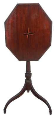 Lot 50: Hepplewhite Candlestand