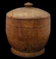 Lot 51: Lidded Treenware Contained