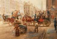 Lot 56: 19th c. Watercolor by E.L. Henry