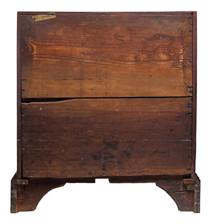 Lot 60: Rare 18th c. Diminutive Desk